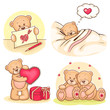 valentine teddy bears collection