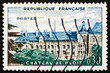 Postage stamp France 1960 Blois Chateau, France