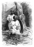 Traditional African King - 19th century