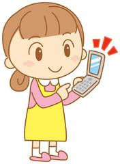 携帯電話と主婦