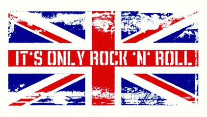 It ́s only Rock ́n ́Roll - Union Jack