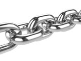 3d Stainless steel chain