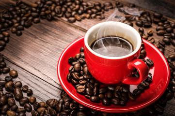 Hot coffee - caffè caldo