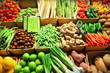 Fototapeta Rynek - Bazar - Warzywo