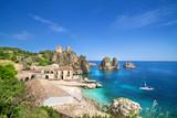 Fototapety Tonnara di Scopello, Sicily, Italy