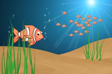 04 Fisch mit Hintergrund