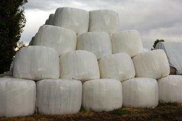 balls of hay