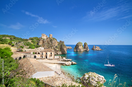 Tonnara di Scopello, Sicily, Italy - 43459827