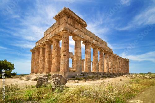 Temple ruins, Selinunte, Sicily, Italy