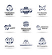 Set of mechanical engineering icons (set 2). Mechanic icon.
