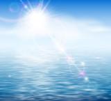Fototapety Sunshine by the sea