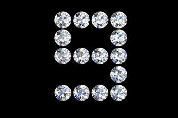 Diamond number nine