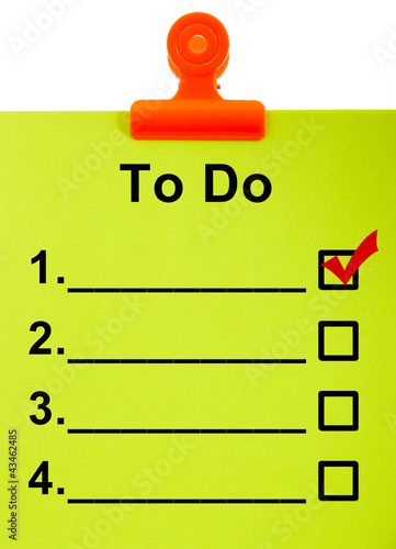 To Do List Clipboard For Organizing Tasks