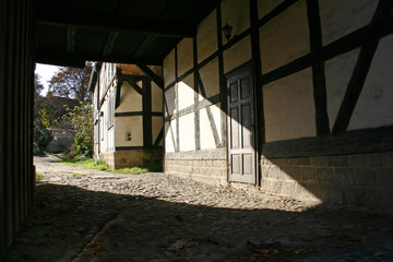 Fackwerk in Quedlinburg