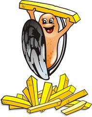 moule frite 2