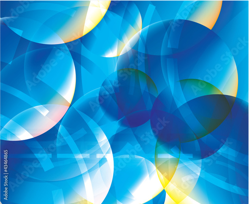 Abstract lights blue background vector