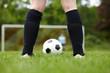 Abstoß beim Fußball