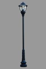Lamp Post Street Road Light Pole isolated