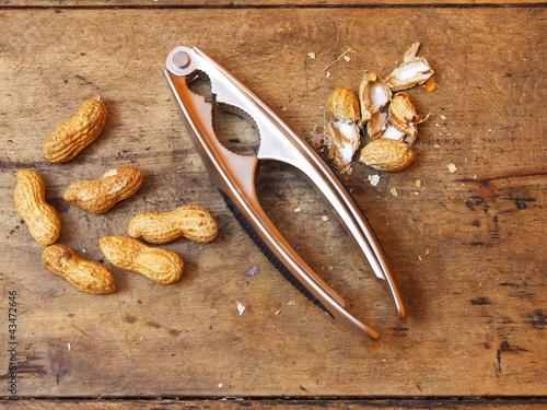 peanuts on the table