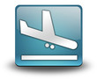 "Light Blue 3D Effect Icon ""Airport Arrivals"""