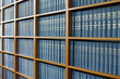 canvas print picture - Library