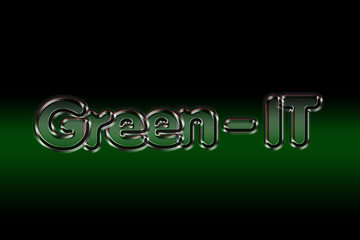 Green-IT / Glastext / Background