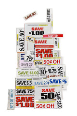Money Saving Coupons On White