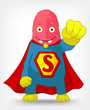 Funny Monster. Super hero.
