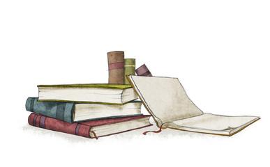books colour