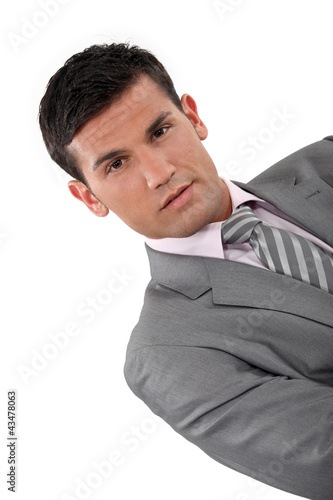 Suave businessman