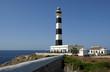 Black and White lighthouse at Cap d'Artrutx - Menorca