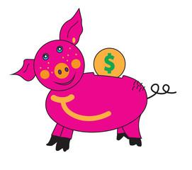 Piglet piggy Bank.