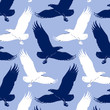 cartoon eagle background