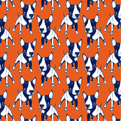 Bull Terrier background