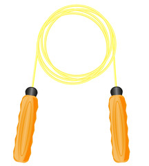 jump rope for fitness illustration
