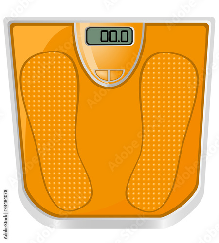 floor scales illustration