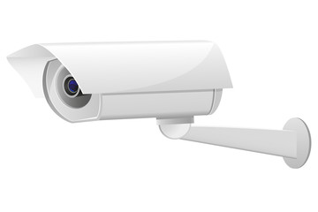 video surveillance camera illustration