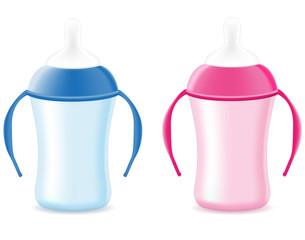 baby bottle feeding for boys and girls