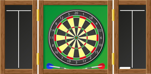 darts illustration