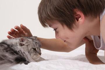 Kind und Katz 2
