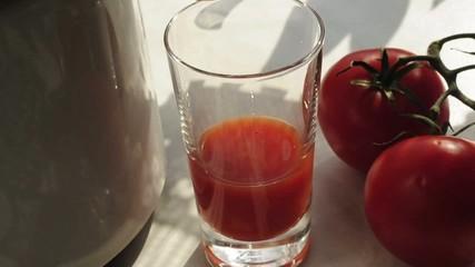 Herstellung von Tomatensaft
