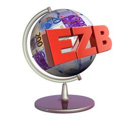 3D Geldglobus - EZB