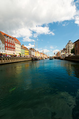 Beautiful  canals of Copenhagen