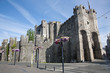 Gent - Gravensteen - old castle, Belgium
