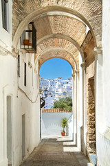 White village in andalucia