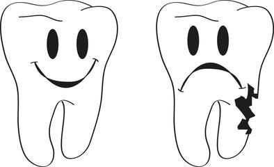 denti carie