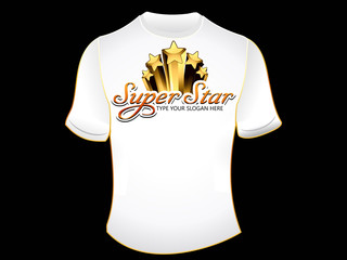 abstract superstar tshirt