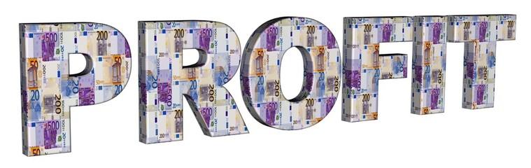 3D Geldschrift - PROFIT
