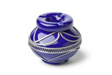 Decorated Moroccan ashtray
