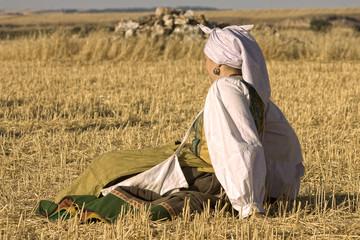 Pastora descansando